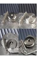 Pieds réglables en hauteur en acier inoxydable 304 avec BASE et TIGE séparables