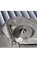 BASE TYPE HGT Inclinaison possible: 15° tige filetée et base séparables adapté aux grandes charges