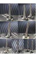 Pieds réglables en hauteur en acier inoxydable 304 STANDARD (semelle caoutchouc incluse de série et splitage au sol en option)